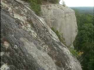Drapers Bluff Rock Climbin