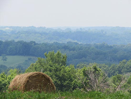 Rolling HIlls of in Shawnee Country